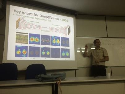 Last Friday 24 June presentation